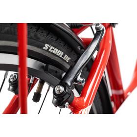 s'cool chiX 24 7-S - Vélo enfant - steel rouge